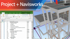 MS Project + Navisworks